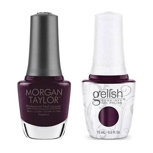 Gelish & Morgan Taylor Combo - Love Me Like A Vamp