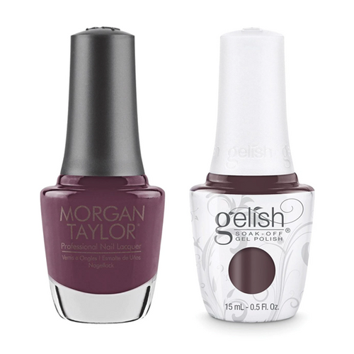 Gelish & Morgan Taylor Combo - Lust At First Sight
