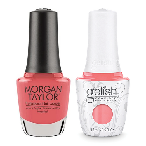 Gelish & Morgan Taylor Combo - Manga-round With Me
