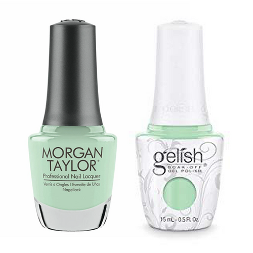Gelish & Morgan Taylor Combo - Mint Chocolate Chip