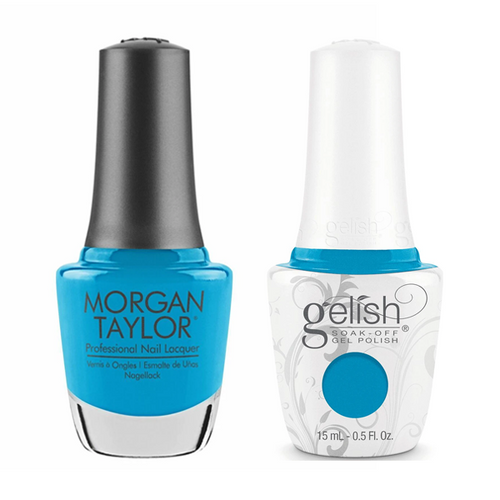 Gelish & Morgan Taylor Combo - No Filter Needed