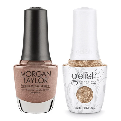 Gelish & Morgan Taylor Combo - No Way Rose