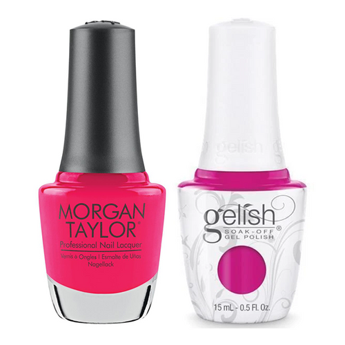 Gelish & Morgan Taylor Combo - Pop-arazzi Pose