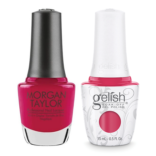 Gelish & Morgan Taylor Combo - Prettier In Pink