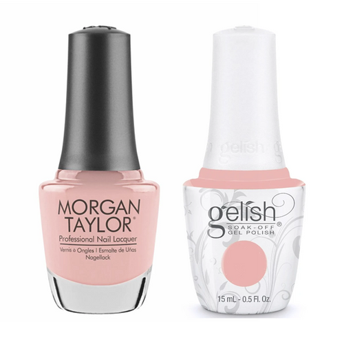 Gelish & Morgan Taylor Combo - Prim-Rose And Proper