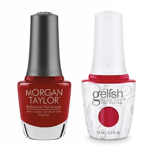 Gelish & Morgan Taylor Combo - Scandalous