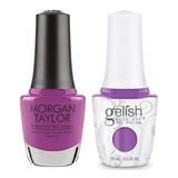 Gelish & Morgan Taylor Combo - You're In My World Now