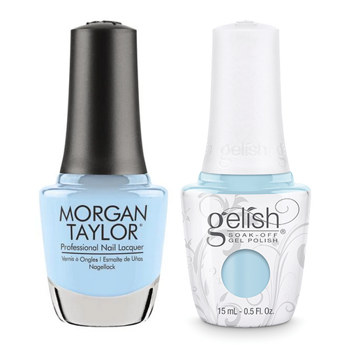 Gelish & Morgan Taylor Combo - Water Baby