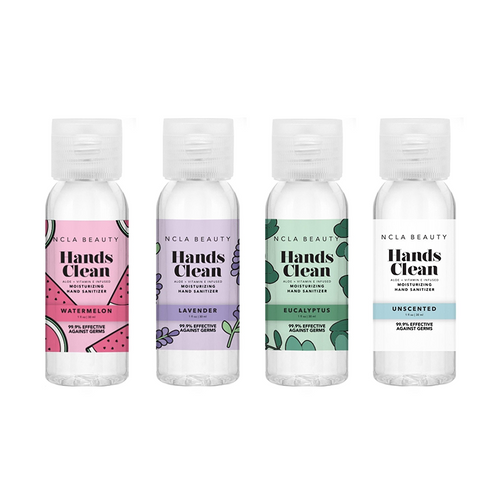 NCLA - Hands Clean Moisturizing Hand Sanitizer Combo - Variety 4-Pack