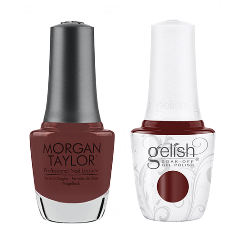 Gelish & Morgan Taylor Combo - Take Time & Unwind