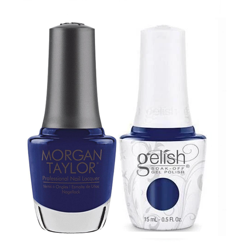Gelish & Morgan Taylor Combo - After Dark