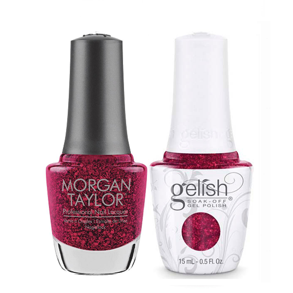 Gelish & Morgan Taylor Combo - All Tied Up… With A Bow