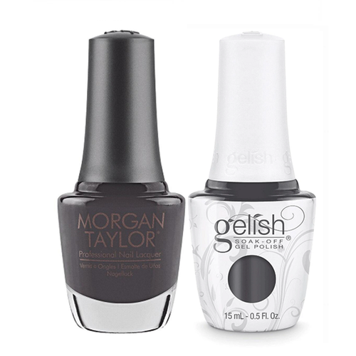 Gelish & Morgan Taylor Combo - Fashion Week Chic