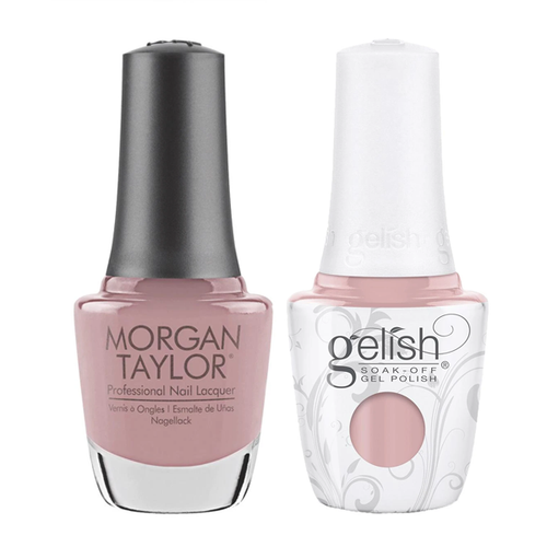 Gelish & Morgan Taylor Combo - Gardenia My Heart