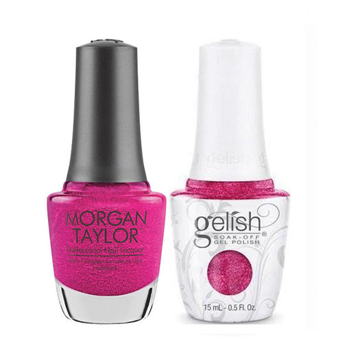 Gelish & Morgan Taylor Combo - High Voltage