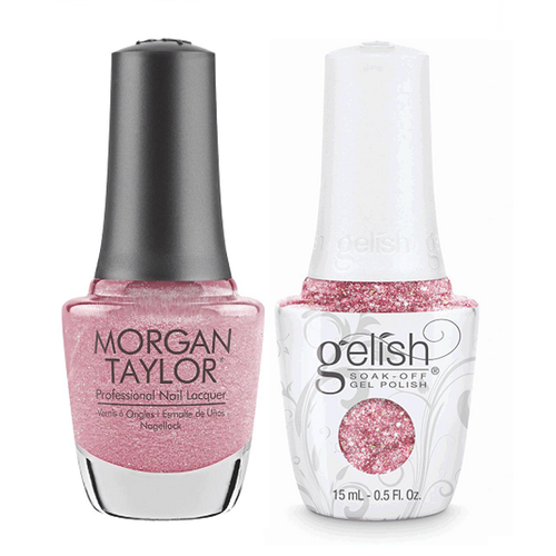 Gelish & Morgan Taylor Combo - June Bride