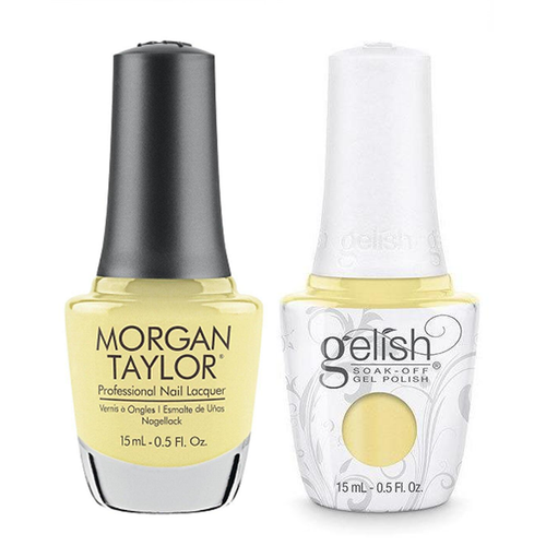 Gelish & Morgan Taylor Combo - Let Down Your Hair
