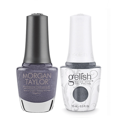 Gelish & Morgan Taylor Combo - Midnight Caller