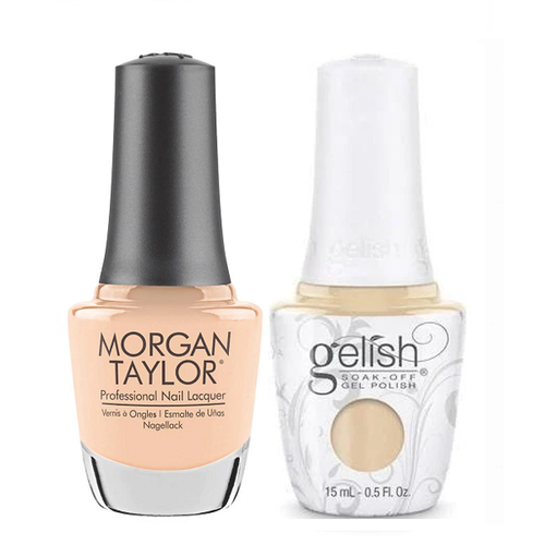 Gelish & Morgan Taylor Combo - Need A Tan