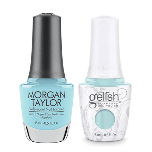 Gelish & Morgan Taylor Combo - Not So Prince Charming