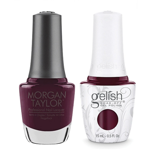 Gelish & Morgan Taylor Combo - Red Alert