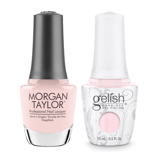 Gelish & Morgan Taylor Combo - Simple Sheer