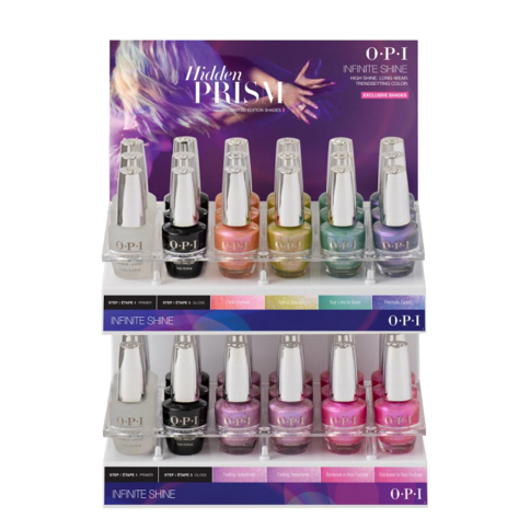 OPI - Hidden Prism Infinite Shine 36 PC Acrylic Display
