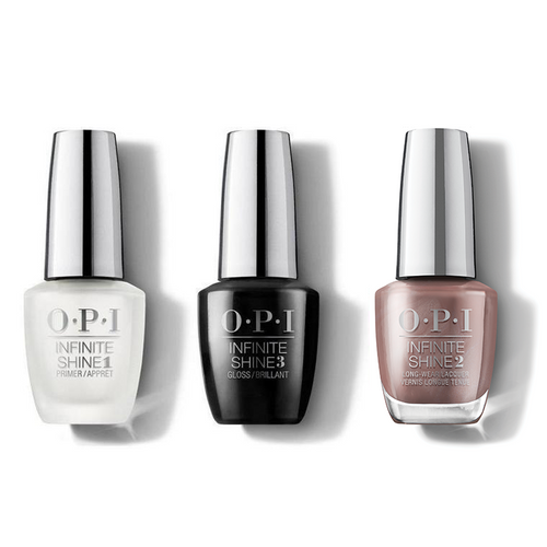 OPI - Infinite Shine Combo - Base, Top & Gingerbread Man Can - #HRM41