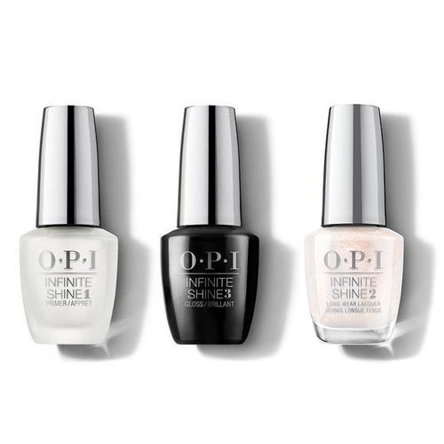 OPI - Infinite Shine Combo - Base, Top & Naughty Or Ice? - #HRM36