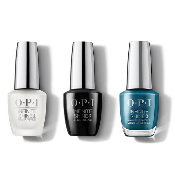OPI - Infinite Shine Combo - Base, Top & Drama At La Scala - #ISLMI04