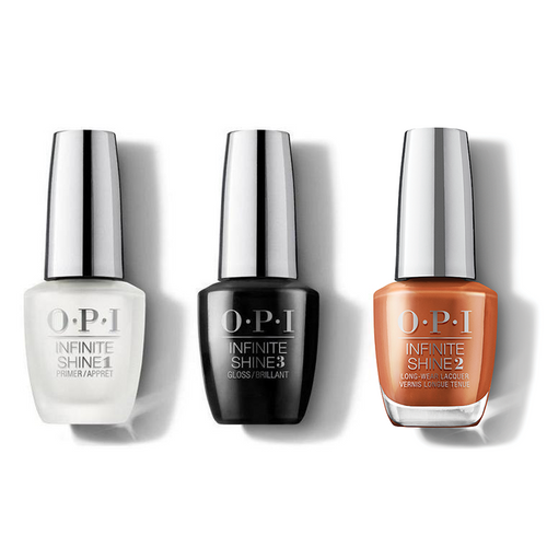 OPI - Infinite Shine Combo - Base, Top & My Italian Is A Little Rusty - #ISLMI03