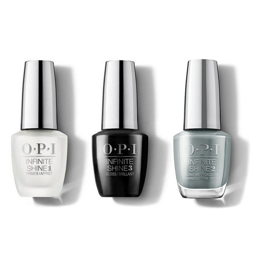 OPI - Infinite Shine Combo - Base, Top & Suzi Talks With Her Hands - #ISLMI07