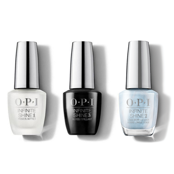OPI - Infinite Shine Combo - Base, Top & This Color Hits All The High Notes - #ISLMI05