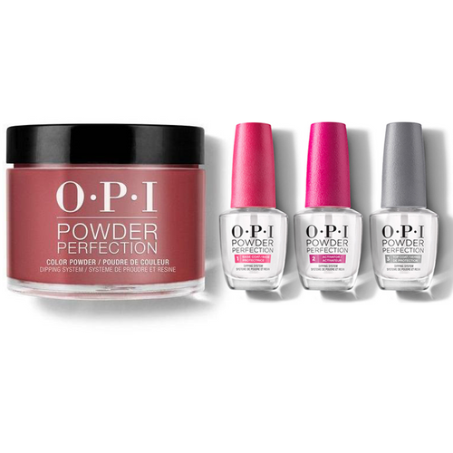 OPI - Dip Powder Combo - Liquid Set Got The Blues For Red