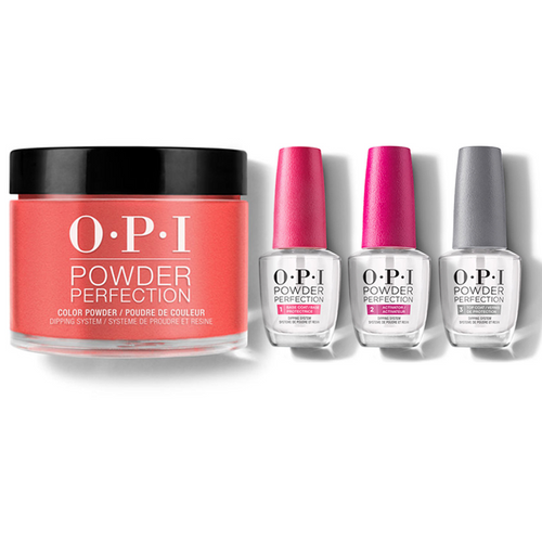 OPI - Dip Powder Combo - Liquid Set & A Good Man-darin is Hard to Find
