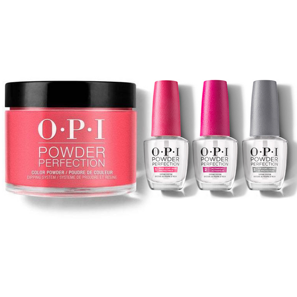 OPI - Dip Powder Combo - Liquid Set & Big Apple Red