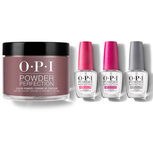OPI - Dip Powder Combo - Liquid Set & Chick Flick Cherry