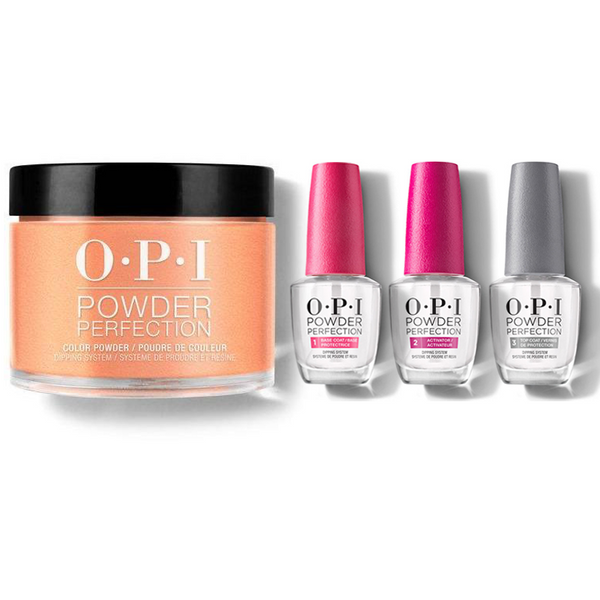 OPI - Dip Powder Combo - Liquid Set & Crawfishin' for a Compliment