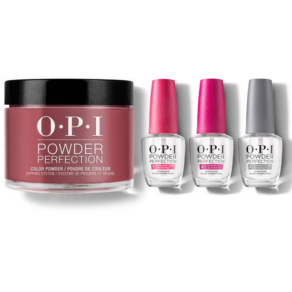 OPI - Dip Powder Combo - Liquid Set & Malaga Wine