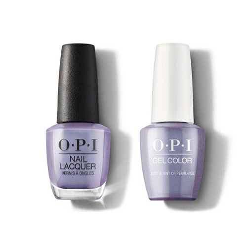 OPI - Gel & Lacquer Combo - Just a Hint of Pearl-ple