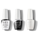 OPI - GelColor Combo - Stay Classic Base, Shiny Top & Dancing Keeps Me On My Toes