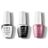 OPI - GelColor Combo - Stay Classic Base, Shiny Top & Just Lanai-ing Around