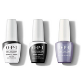 OPI - GelColor Combo - Stay Classic Base, Shiny Top & Just a Hint of Pearl-ple