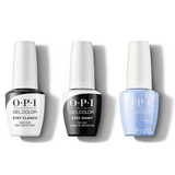 OPI - GelColor Combo - Stay Classic Base, Shiny Top & Let Love Sparkle