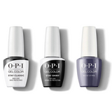 OPI - GelColor Combo - Stay Classic Base, Shiny Top & Nice Set Of Pipes