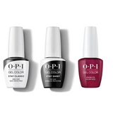 OPI - GelColor Combo - Stay Classic Base, Shiny Top & Sending You Holiday Hugs