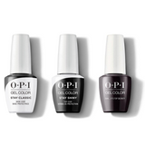 OPI - GelColor Combo - Stay Classic Base, Shiny Top & Shh...It's Top Secret!