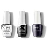 OPI - GelColor Combo - Stay Classic Base, Shiny Top & Suzi & the Arctic Fox
