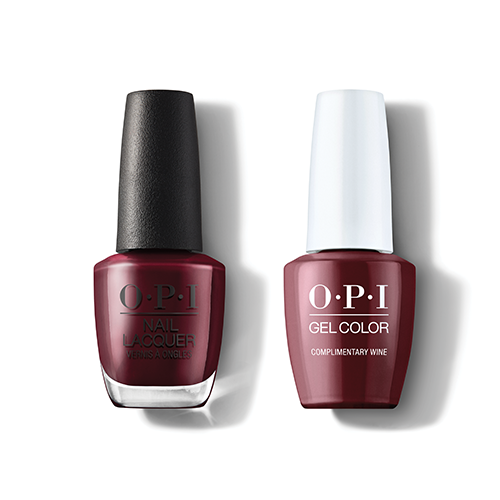 OPI - Gel & Lacquer Combo - Complimentary Wine
