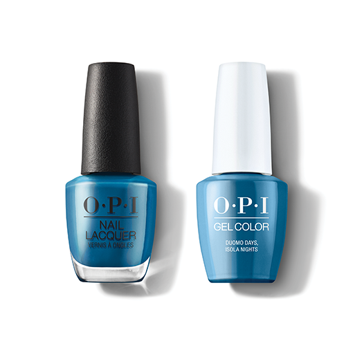 OPI - Gel & Lacquer Combo - Duomo Days, Isola Nights